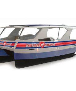Silver Viking Hybrid Katamaran