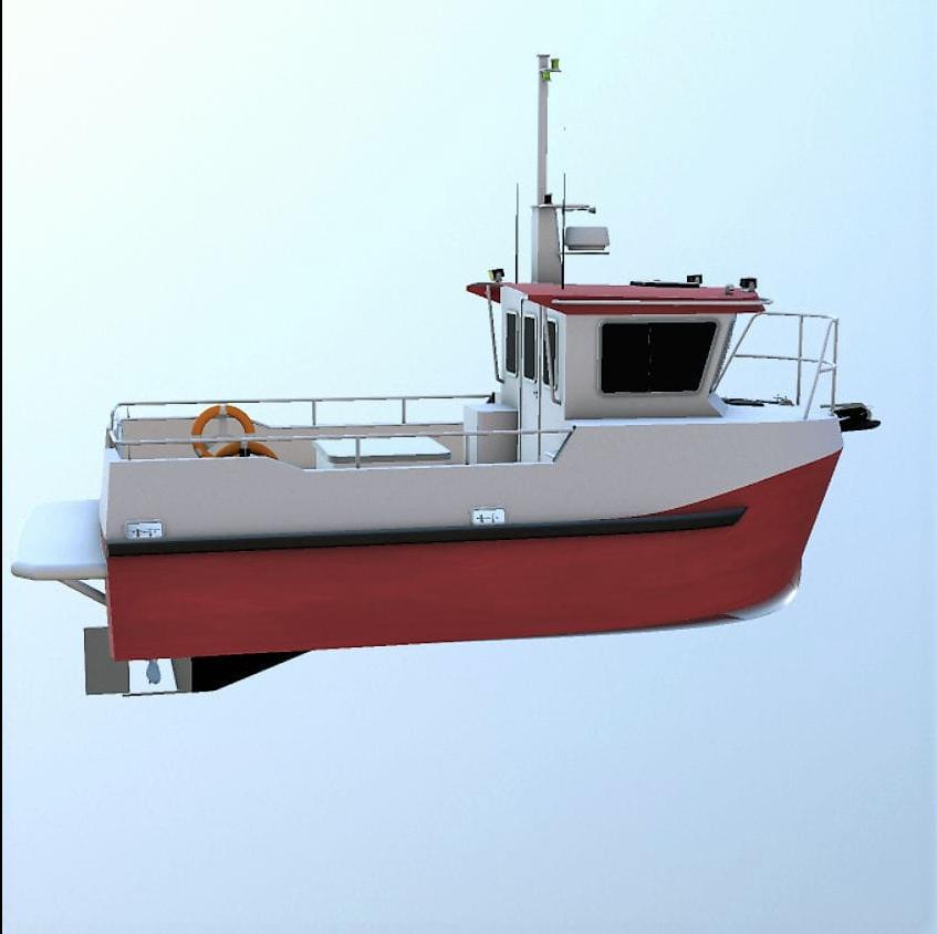 TB Mariner 800 Alu
